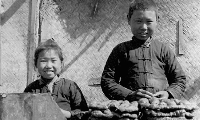 老照片:民國時期的北京小吃