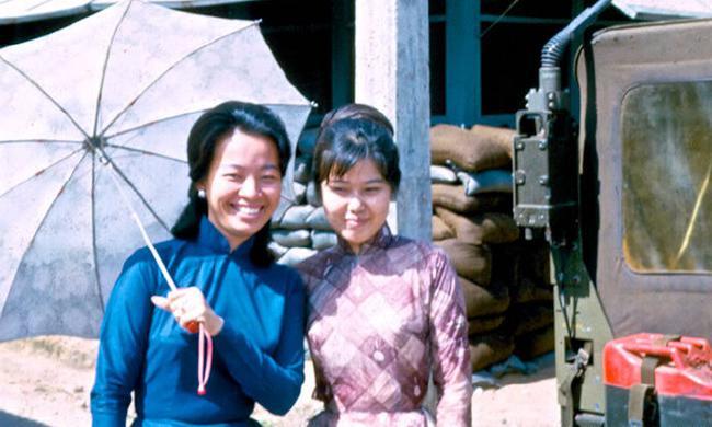 老照片:1960年代的越南女人