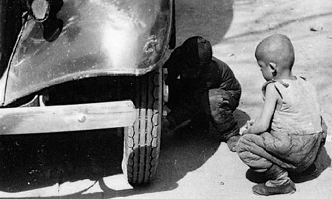 老照片:1937年的山东