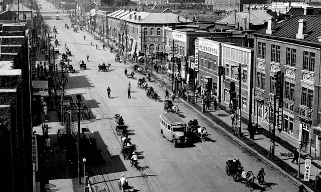 """1936年长春,""""伪满洲国""""的首都"""