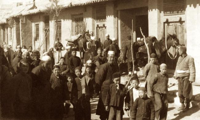 10张老照片,穿越到1936年的宁夏