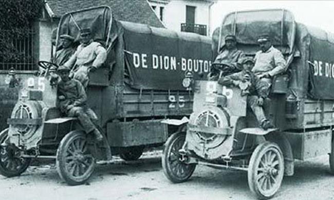 一战时期的军用车辆,怪模怪样让人惊奇