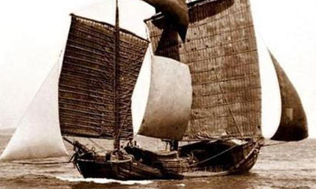 老照片:中國100年前的船