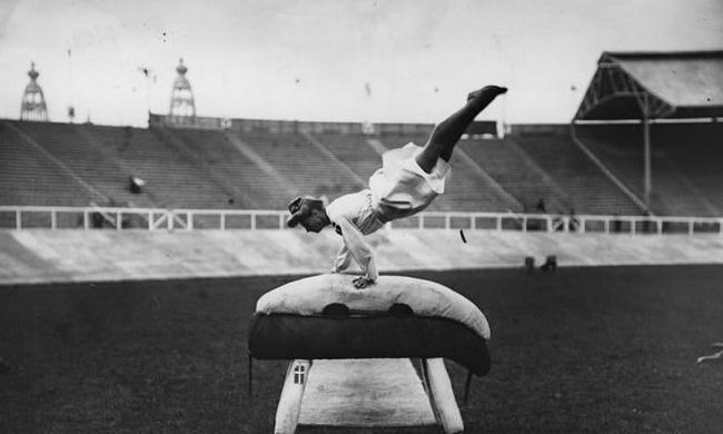 老照片:1908年的伦敦奥运会