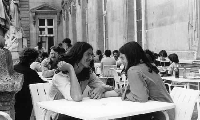 老照片:1978年的法国巴黎