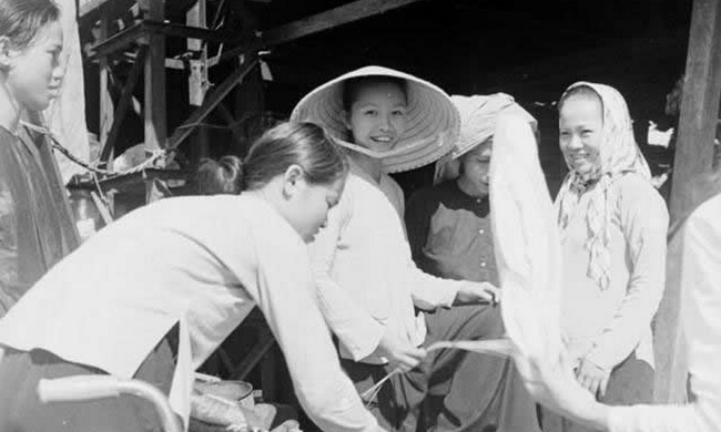 老照片:50年代的越南西贡
