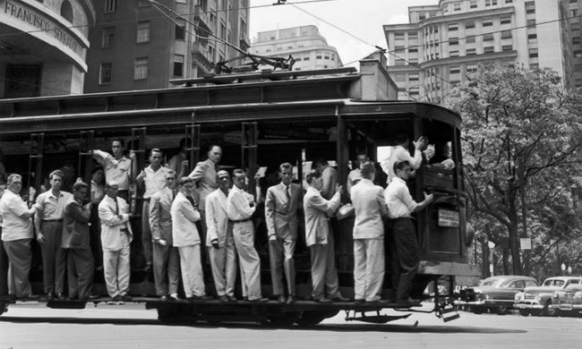 老照片:1954年的巴西