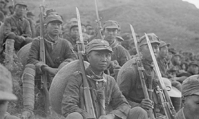老照片:抗战初期真实的八路军战士