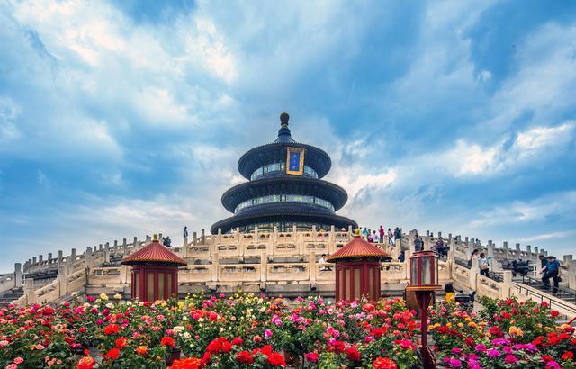 实拍京城,五月的帝都鲜花盛开