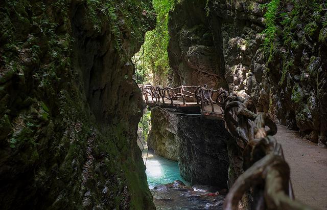 巴山大峡谷,四川又一个鲜为人知的景点