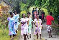 南太平洋岛国部落青年大会