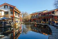 丽江古城像一幅写意的丹青