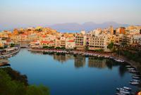 希腊克里特岛上的度假胜地