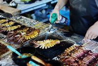 济州岛超好吃的大鱿鱼