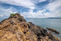 荒芜人烟的香港海岛游