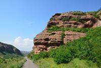 中国海拔最高的丹霞地貌群