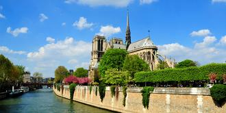 巴黎圣母院的昔日风采
