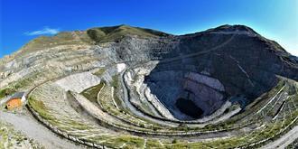 壯觀!可可托海三號礦坑