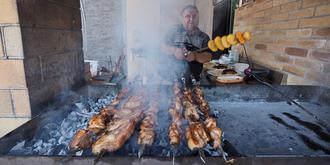 亚美尼亚烧烤超大串