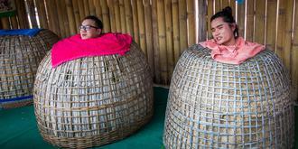 泰国神奇的鸡笼SPA