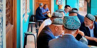 新疆喀什百年老茶馆