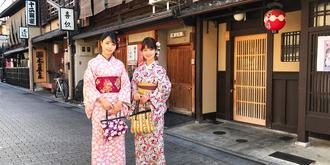 京都花见小路风情