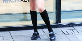今年夏天流行穿棉線襪子