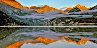 西藏阿里令人窒息的美