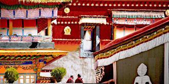 莊嚴肅穆的色拉寺