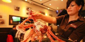 在世界盡頭吃帝王蟹