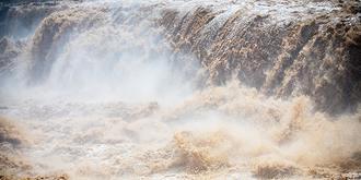 怒吼的黃河