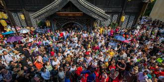 國慶假期哪游客最多