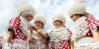 最奢華的苗族服飾