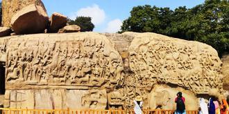 印度最大的浮雕