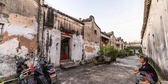 国内罕见的府第式古村落