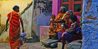 印度渔村的真实生活