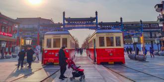 前门大街老北京风情