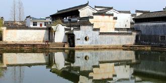 水彩畫般的古村落