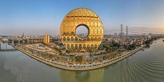 十亿元造的广州圆