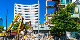 地震后的基督城