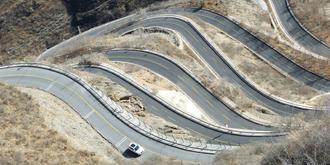悬崖立体魔鬼公路