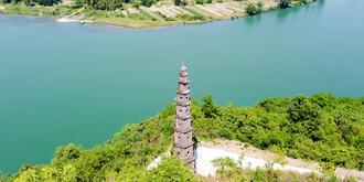 矗立400多年不倒的古塔