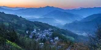 石潭村的清晨