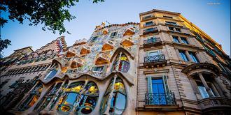 风格多样的巴塞罗那建筑