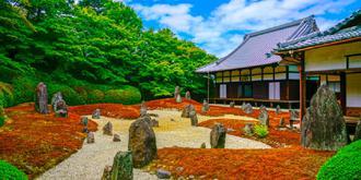 日本庭院的禪意世界