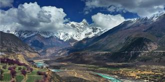 西藏最难见到的雪山