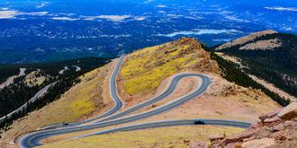 惊险刺激的盘山公路