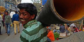 孟买的街头巷尾