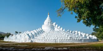壮观的缅甸遗址