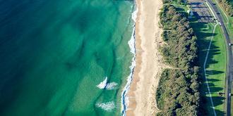 鸟瞰澳洲贝壳港绝美风光